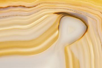 Backlit Brazilian agate, closeup