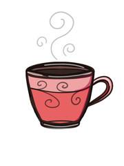 coffee drink illustration cartoon drawing