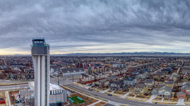 Stapleton Control and Downtown Denver