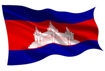 カンボジア  国旗 旗 アイコン