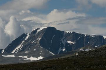 Dovrefjell mit Snöhetta, Norwegen