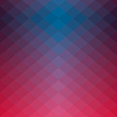 Abstract geometric background with rhombuses.