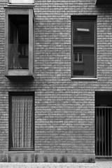 apartment building / windows