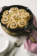 Fig and Lemon Swirl Rolls
