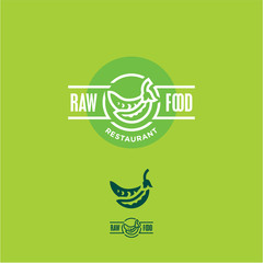Peas icon, Peas label. Green peas. Raw food sign. Peas pod.