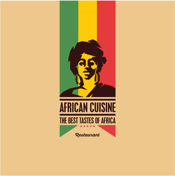 african woman, african cuisine