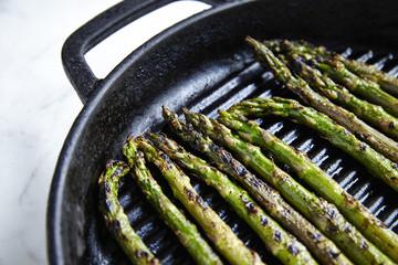 Pan grilled Asparagus