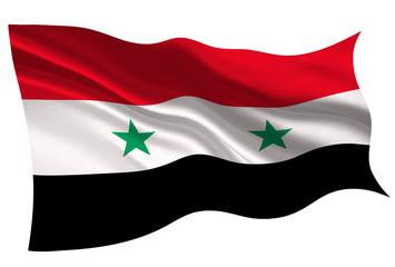 シリア  国旗 旗 アイコン