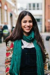 Striking persian woman in London