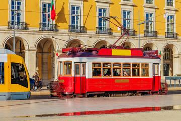 Trem Vintage em Lisboa