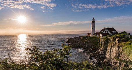 Fototapete - Portland Head Light - Lighthouse - Maine