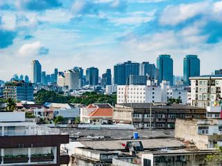 バンコクの遠景