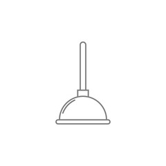 plunger icon. Web element. Premium quality graphic design. Signs symbols collection, simple icon for websites, web design, mobile app, info graphics
