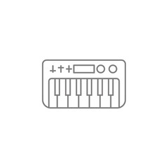 synthesizer icon. Web element. Premium quality graphic design. Signs symbols collection, simple icon for websites, web design, mobile app, info graphics