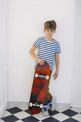 Boy skater,