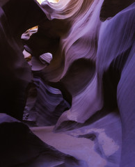 Inside the Lower Antelope Canyon, Arizona USA