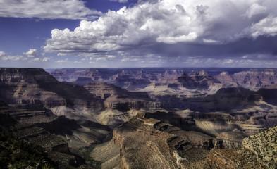 Aerial view of South Rim Grand Canyon National Park, Arizona, USA