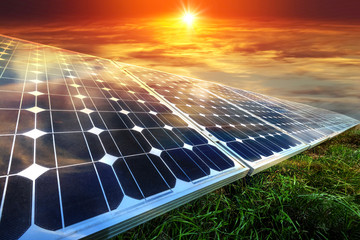 Solar panels, photovoltaics - alternative electricity source
