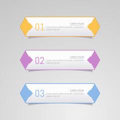 Sticker label, Colorful paper set