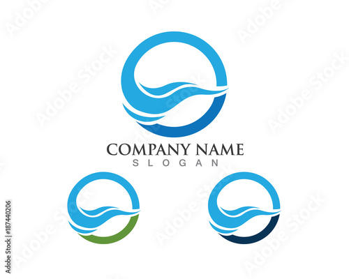 Water Wave Logo Symbols Stock Image And Royalty Free Vector Files