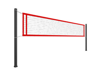 Volleyball Net Isolated
