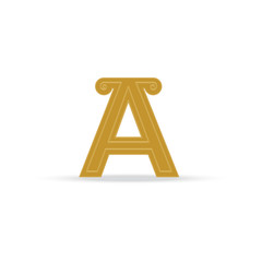 logo of the letter A vector