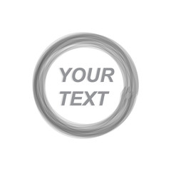 The text design is surrounded by abstract lines