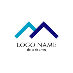 Home Logo Vector Template Design