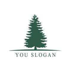 vector pine trees