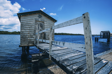 Maroochy River Boat House during the day.