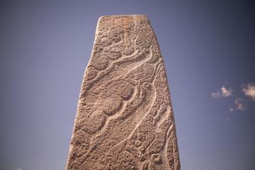 Deer stone in Mongolia