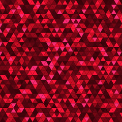Abstract background with multicolored triangles