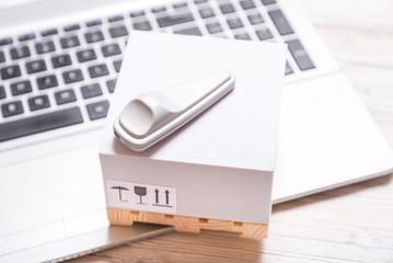 Electronic Article Surveillance tag, good insurance concept