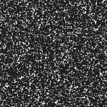 Abstract blot of black circles. EPS 10 vector