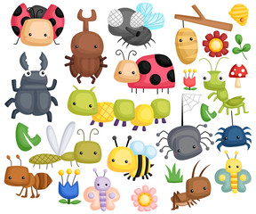 Bug vector set