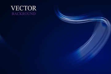 abstract blue Lines,Vector illustration backround