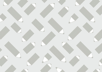 Horizontal background with pencils