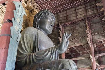 Todai-ji Daibutsu - The Great Buddha at Todai-ji Temple in Nara, Japan