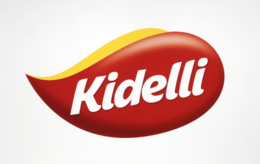 The logo of the new brand called Kidelli of Brazilian food company BRF SA is seen in Sao Paulo