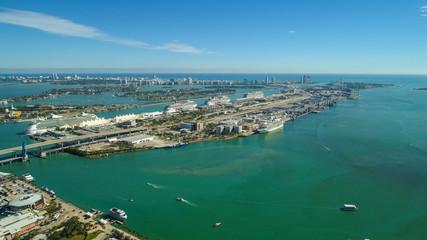 Aerial image of Port Miami