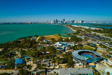 Aerial image Miami Seaquarium