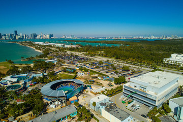 Aerial image of Miami Seaquarium