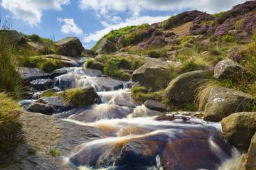 Ilkley Moor, Yorkshire, England, UK