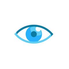 Blue Eye Logo and Illustration
