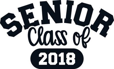 Senior class of 2018