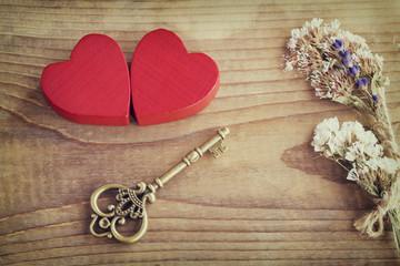 Valentines love concept background.