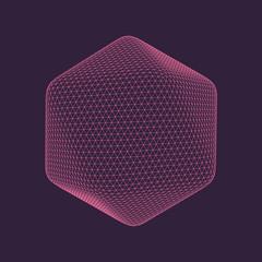 Icosahedron Vector Illustration