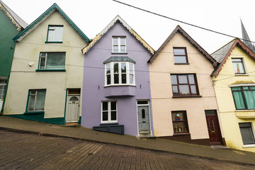 The coloured houses of Cobh, Cork, Ireland