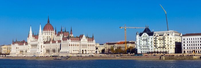 Photo of colorful Parlament in Budapest in Hungary