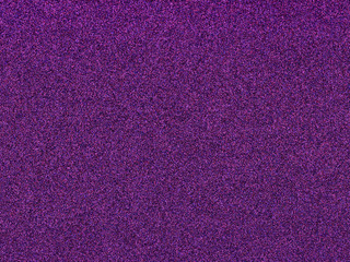 New trend color of 2018, Ultra violet on glitter background